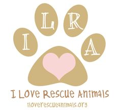 I Love Rescue Animals #logo