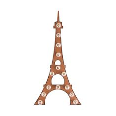 Add a piece of Parisian sophistication to your home with this homage to one of the world's most celebrated architectural feats. A marvel of minimalist design, the metal Eiffel Tower Marquee Sign featur...  Find the Eiffel Tower Marquee Sign, as seen in the Summer in Paris Collection at http://dotandbo.com/collections/summer-in-paris?utm_source=pinterest&utm_medium=organic&db_sku=DBIMRQ-22