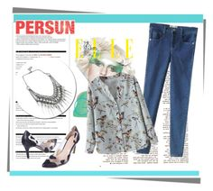 """Persun #1/10"" by ljubicica988 ❤ liked on Polyvore featuring мода, Arche и persunmall"