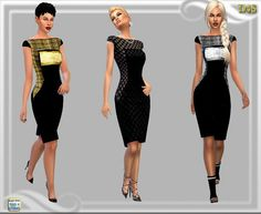 Dreaming 4 Sims: Ny Weekend ladies dress • Sims 4 Downloads