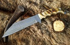 Damascus Seax Knife   http://agknivesstore.tictail.com/