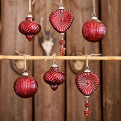 Weihnachtsschmuck 6er Set Fuveau #loberon #christmas #Xmas #Weihnachten