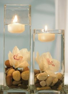 ➗Beige Candles