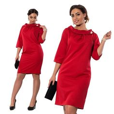 Official Dress with Chic Neckline Design It is the best choice for morden lady! Price:$18 Buy now: www.u-naku.com/goodsshow/782/
