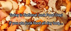 Journal/Writing Prompt for Thursday, July 21, 2016: Today is National Junk Food Day! If you ate junk food all day long…   Copyright: lightwise / 123RF Stock Photo