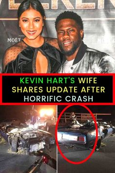 Kevin Hart's Wife Shares Update After Horrific Crash Kevin Hart Wife, Ford Shelby Cobra, Back Injury, Hollywood Stars, Comedians, Wtf Fact, Hilarious, The Incredibles, Lol