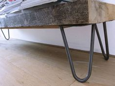 4 x Hairpin legs poten 20 cm- blank gelakt- industrial used look- incl. Decor, Furniture, Interior, Table, Entryway Tables, Home Decor, Entryway