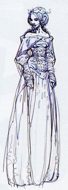Star Wars Padme Amidala Concept art-- I LOVE it!