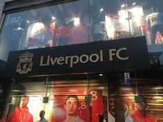 Liverpool Fc official club shop liverpool one shopping centre city centre…