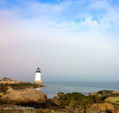 Winter Island Lighthouse. Salem, MA