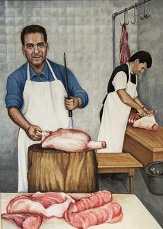 Solothurn, Lucerne, Butcher Shop
