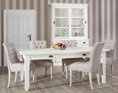 Stół Milton white 200x100x78cm, 200x100x78cm - Dekoria #white #meble #biale #furniture #chair #interior #idea #design