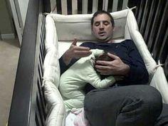 Father Goes Into Crib by NunsioRaso, youtube: : ) #Baby_Crib_Dad #NunzioRaso #youtube