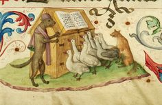 The Sounds that Animals Make – the Medieval Version