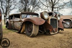 Rat rod at Vintage Torque Fest 2013, Dubuque, Iowa Photo by Kelly Whitman of Endless Acres Photography