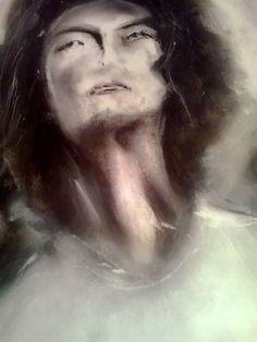 painting, Arcángel Gabriel / Archangel Gabriel