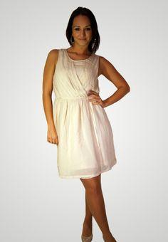 ICHI béžové šaty