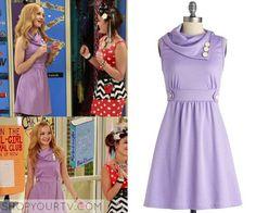Liv & Maddie: Season 2 Episode 4 Liv's Lavender Button Dress |