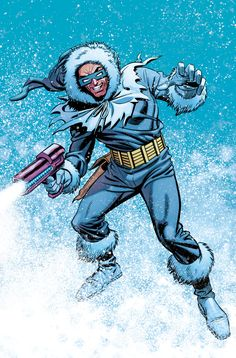 Captain Cold (Leonard Snart,) - DC Comics - Visit to grab an amazing super hero shirt now on sale!