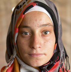 Alaa, age 14 from Daara. Photography project in Zaatari Refugee Camp, Joran.