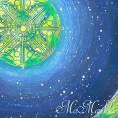 Mandala Samolepka Detail Nadeje Mandala, Night, Detail, Artwork, Work Of Art, Auguste Rodin Artwork, Mandalas