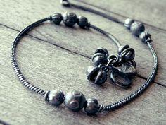 bell anklet anklet bracelet feet jewelry hippie by CarmelaRosa