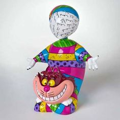Disney Britto Cheshire Cat Figurine - Large