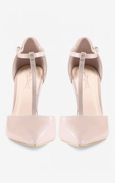 Odessa Rise Up Pumps in Nude