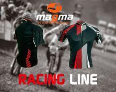 Racing line jersey by MAGMA jersey (designed by Malik Utara)