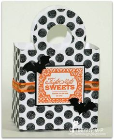 Growing in Unity Halloween treat bag by Cricketeer - Cards and Paper Crafts at Splitcoaststampers