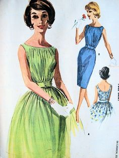 1960s Junior Cocktail Party Dress