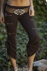 Aiwaya Pants- with simple flares by Elven Forest Creations (Elven Forest Creations) Tags: fashion yoga dance clothing pants handmade womens clothes elvenforest