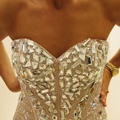 this is similar to what i want the bodice of my dress to look like!