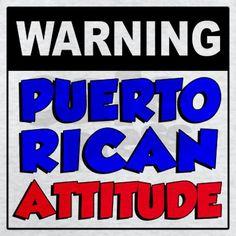 Warning Puerto Rican Attitude Kids Hoodie by Basia_N - CafePress Miss Puerto Rico, Puerto Rico Food, San Juan Puerto Rico, Puerto Rican Memes, Puerto Rican Recipes, Cuban Recipes, Steak Recipes, Spanish Phrases, How To Speak Spanish