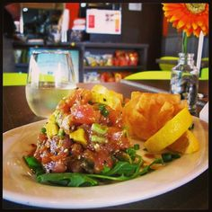 .@Chef Jimmy'z Carey | Only in Pinecrest - Tuna Tartare Chef's Special! Healthy, delicious, and oh s... | Webstagram