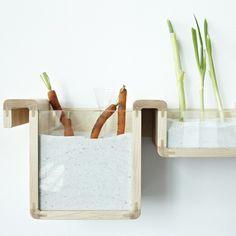 japanese inspiring. Keeping vegetables fresh without a refrigerator-Jihyun-Ryou