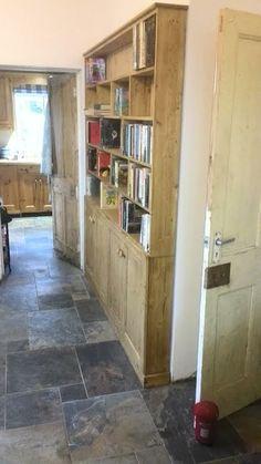 Bookshelves, Bookcase, Bookshelf Inspiration, Welsh Dresser, Dressers, Beautiful Hands, My Dream, Bespoke, Pine