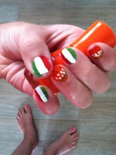 Nails from italie