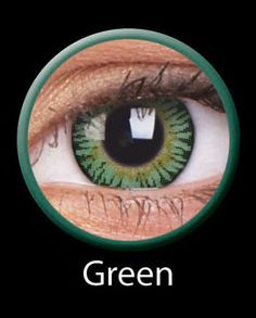 bcbc06ea122e 3 Tone Green Color Contact Lenses  painfulpleasures  eyeaccesory  halloween   contacts  lenses  fashion  accesories  eye  eyes