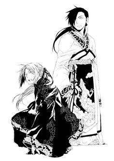 Tags: Fanart, Fullmetal Alchemist, Edward Elric, Ling Yao, Fullmetal Alchemist Brotherhood, Niche-mo
