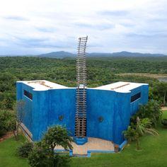 Gian Franco Brignone's 'Castillo el Tigre del Mar', Careyes, Mexico