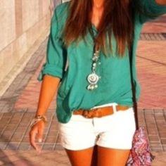 .so cute! Love the green