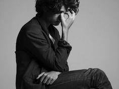 Louis Garrel par Hedi Slimane.
