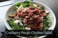 Cranberry Pecan Chicken Salad - Grassfed Mama