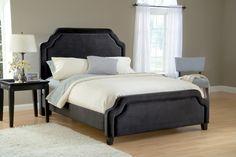 Hillsdale 1638BQRC Carlyle Bed Set - Queen - w/Rails