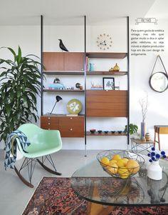 Decoração vintage. Veja: http://www.casadevalentina.com.br/blog/detalhes/decoracao-vintage-3008 #decor #decoracao #interior #design #casa #home #house #idea #ideia #detalhes #details #style #estilo #vintage #casadevalentina #livingroom #saladeestar