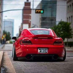 Honda S2000 with BMW Z4 hardtop modification RED