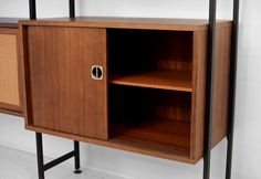 SALE Vintage Modular Wall Unit Mid Century Modern by Moved
