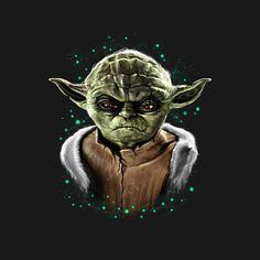Awesome 'Devil+Master' design on TeePublic! - My design is inspired by a Yoda and made him an evil one. (SciFi Tshirts)