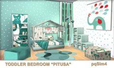 PQSims4: Toddler Bedroom Pitusa